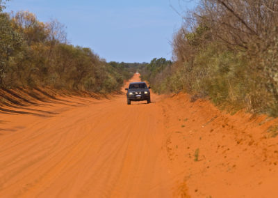 Outback touring on Cape Leveque Road